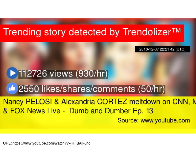 b3bcd800 Nancy PELOSI & Alexandria CORTEZ meltdown on CNN, MSNBC & FOX News Live -  Dumb and Dumber Ep. 13